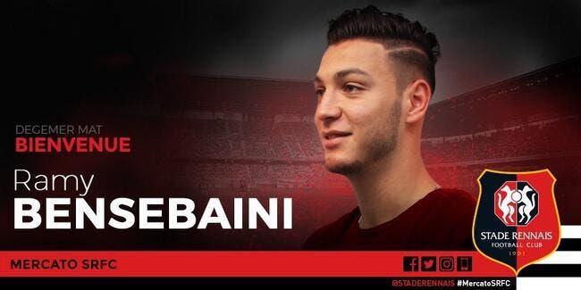 Mercato : Rennes officialise la signature d'un défenseur algérien