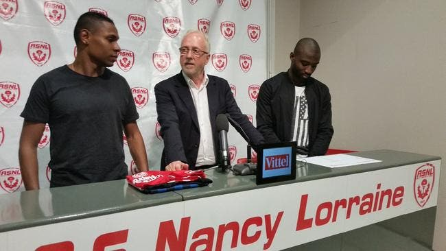 Officiel : Nancy recrute deux attaquants