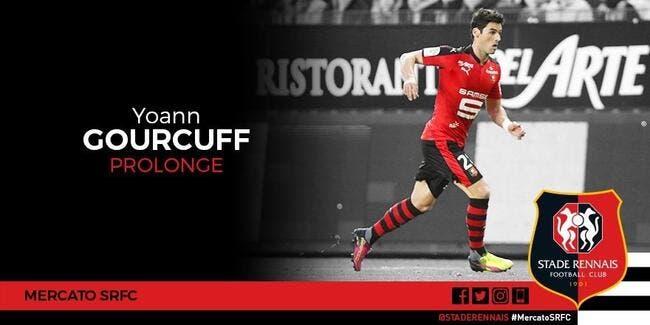 Yoann Gourcuff prolonge deux ans à Rennes