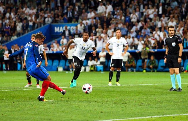 Allemagne - France : 0-2
