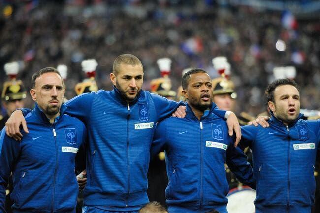 France: Evra, Ribéry, Nasri, Benzema, Riolo refait l'histoire des Bleus