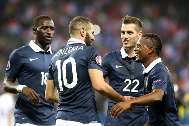 France: Karim Benzema à fond derrière les Bleus