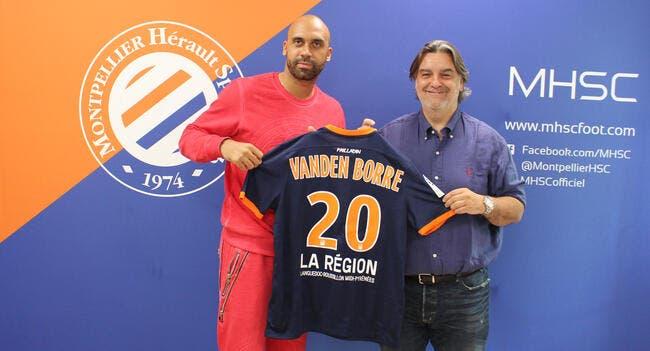 Officiel: Montpellier s'offre Vanden Borre en prêt