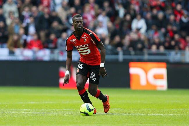 Officiel: Rennes laisse Diagne filer en Allemagne