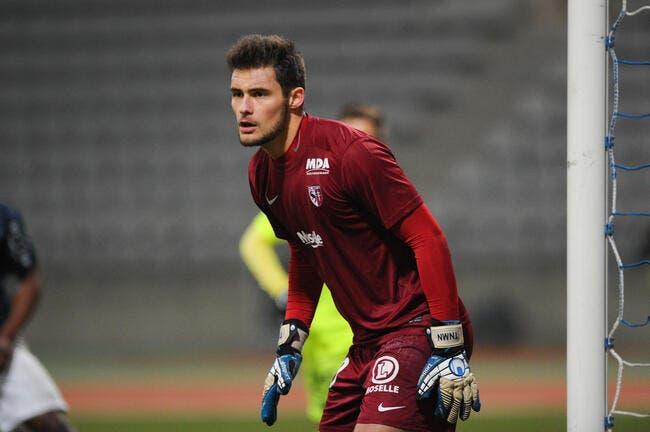 Brest - Metz : 1-0