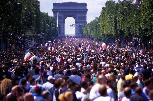 Finale : Exit les Champs, les Bleus défileront avenue Foch en cas de victoire !