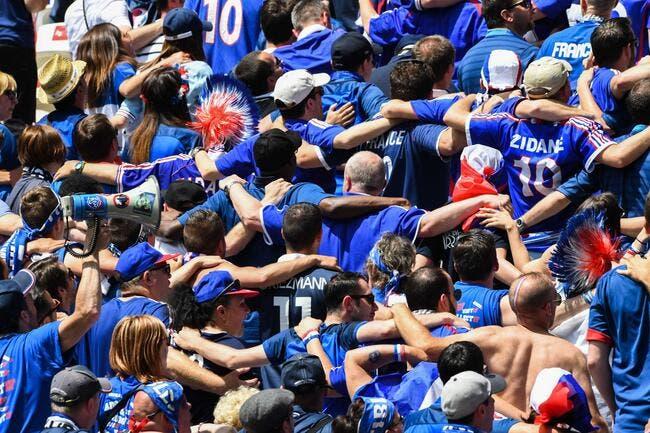 France : Enorme ambiance à la fan-zone de Lyon