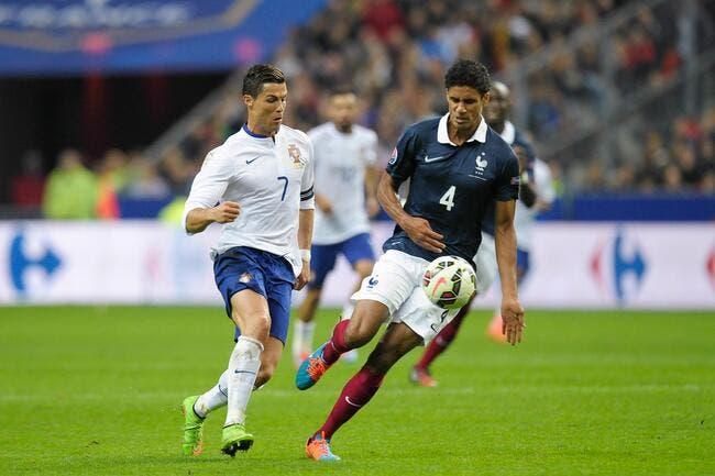 Portugal-France : Varane donne les clés pour bloquer Cristiano Ronaldo