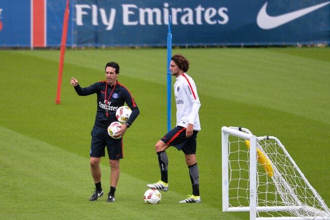 PSG : Emery fait suer les joueurs du Paris SG, mais ils adorent