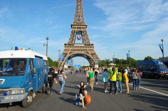 Euro 2016 : La Tour Eiffel fermée ce lundi en raison des incidents