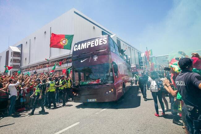 Portugal : Une marée humaine à Lisbonne pour la bande à Cristiano Ronaldo !