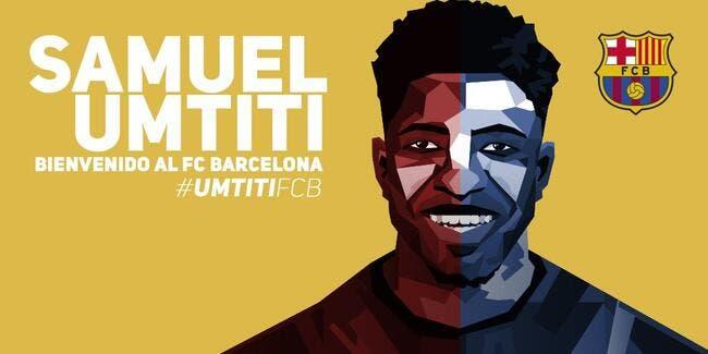 OL-Barça : Umtiti a désormais une clause libératoire à 60ME !