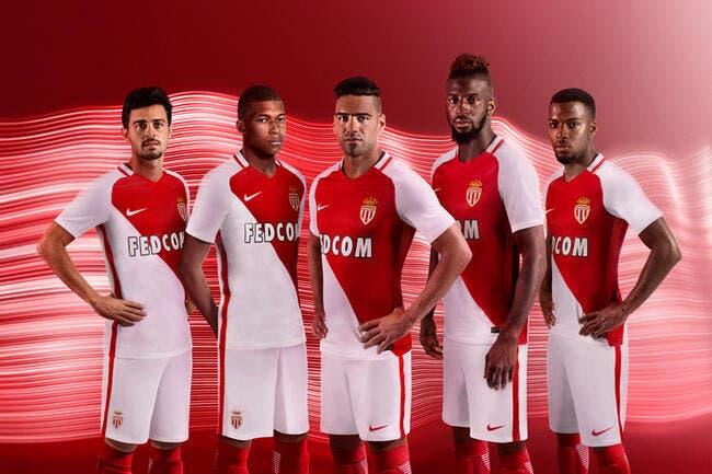 Monaco : L'ASM présente son maillot domicile 2016-2017