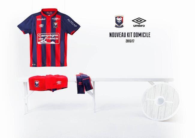 Caen : Le maillot 2016-2017 présenté