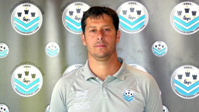 L2 : Mercadal nommé entraîneur du Tours FC
