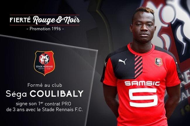 Rennes : Séga Coulibaly passe pro