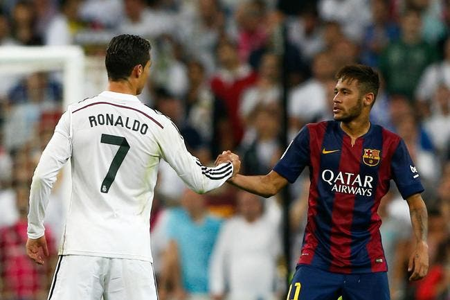 Neymar offre déjà le Ballon d'Or à Cristiano Ronaldo