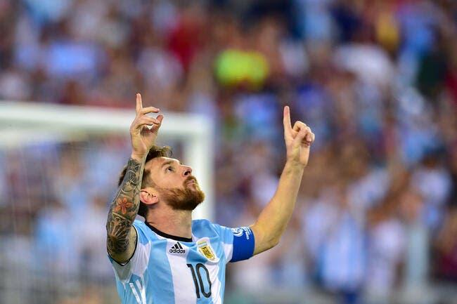 Quoi qu'il fasse, Cristiano Ronaldo reste derrière Messi