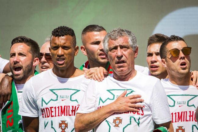 Portugal : Fernando Santos prolonge jusqu'en 2020