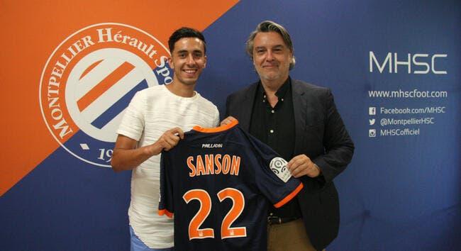 Officiel : Le petit frère de Sanson signe pour 3 ans à Montpellier