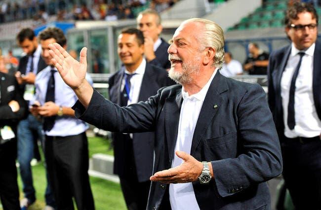 OL : Le patron de Naples dément vouloir le transfert de Corentin Tolisso