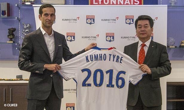 OL : Lyon partage un nouveau sponsor avec Tottenham