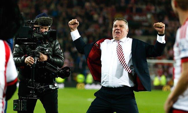 Sunderland fâché par le probable départ d'Allardyce