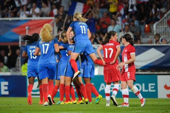 Féminines : France - Canada : 1-0