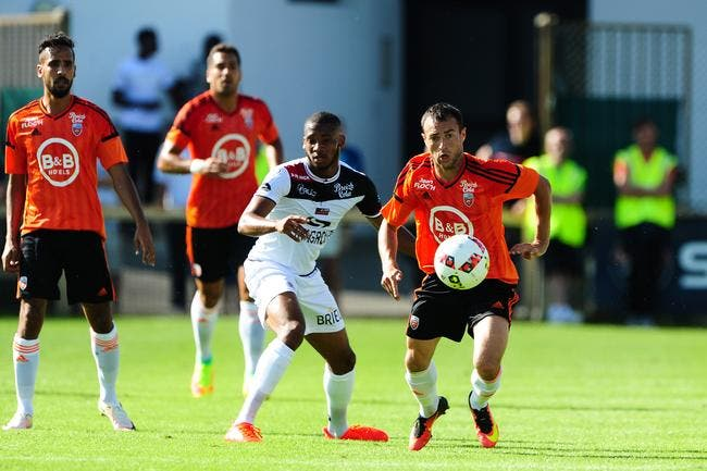 Lorient - Guingamp : 1-2