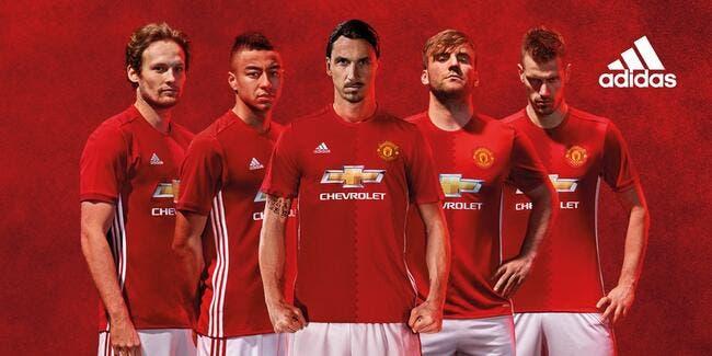 Maillot : Adidas dévoile le maillot domicile de Manchester United
