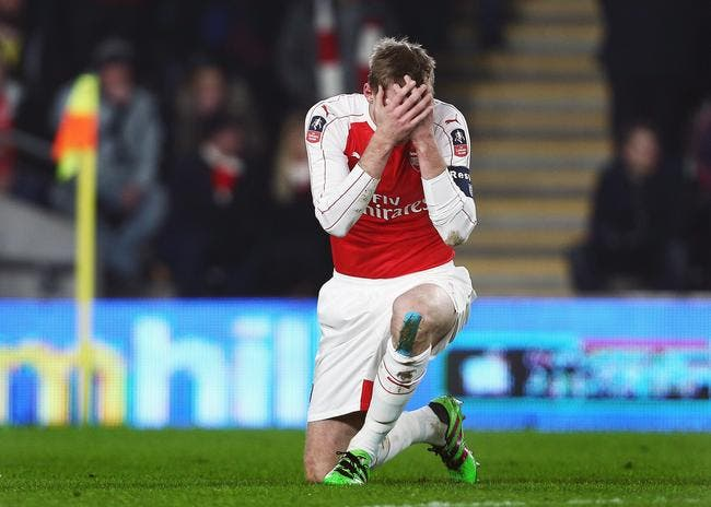 Arsenal : Mertesacker out 5 mois !