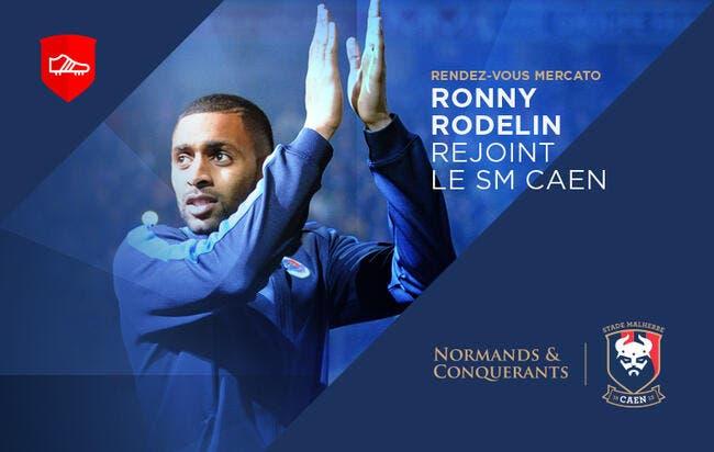 Mercato : Rodelin signe pour trois ans à Caen !