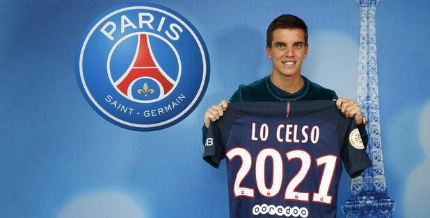 Officiel: Le PSG fait signer Lo Celso jusqu'en 2021