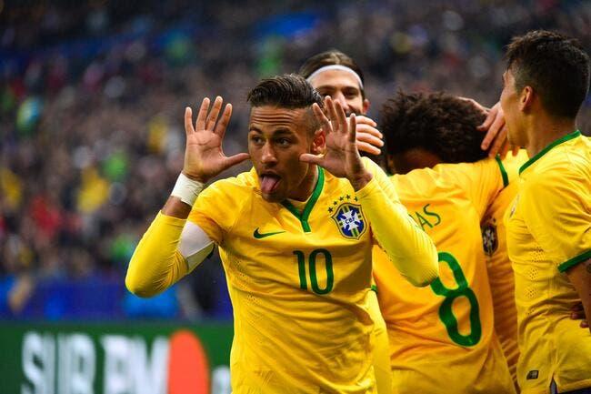 Brésil : Neymar aime faire la fête, et ça ne changera jamais