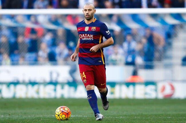 Espagne : Mascherano jusqu'en 2019 au Barça
