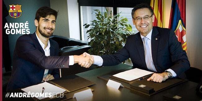 Officiel : André Gomes signe 5 ans au Barça