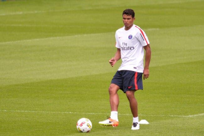 PSG: Thiago Silva blessé à la hanche