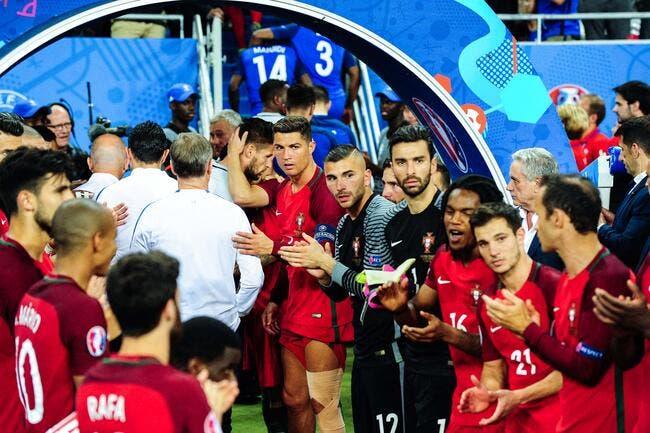Cristiano Ronaldo a dopé le Portugal constate Anthony Lopes