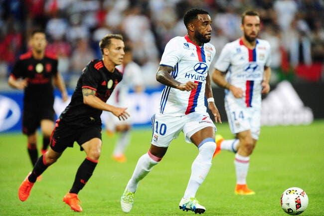 OL : Lyon domine Benfica et répond au PSG