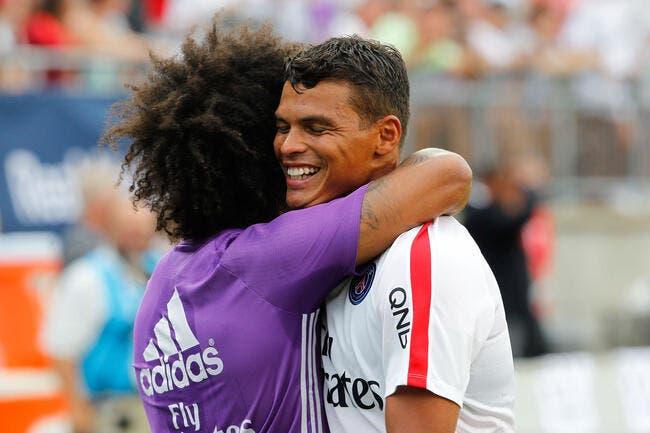 PSG - OL : Thiago Silva absent contre Lyon ?