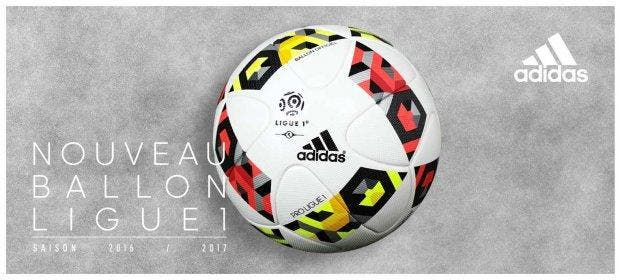 L1 : Voilà le nouveau ballon Adidas pour la saison 2016-2017