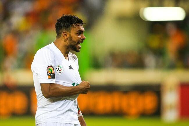 CAN 2017: Benzia marque, l'Algérie décroche son billet