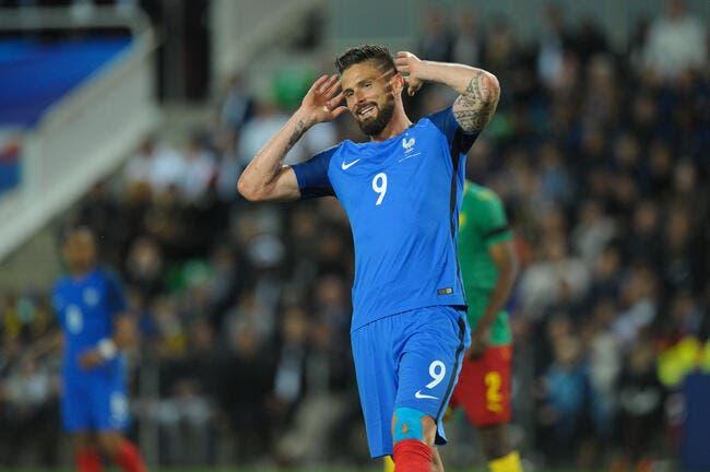 France: Sifflé et critiqué, l'excellent Giroud croit rêver