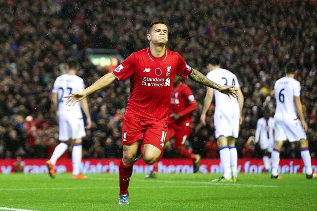 PSG: Le Paris SG attaque Coutinho dans le dos de Liverpool