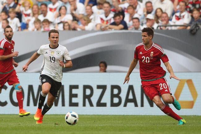 Allemagne - Hongrie : 2-0