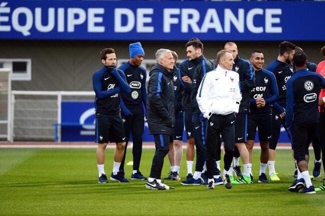 Live Vidéo : L'entraînement de l'équipe de France en direct à 17h30