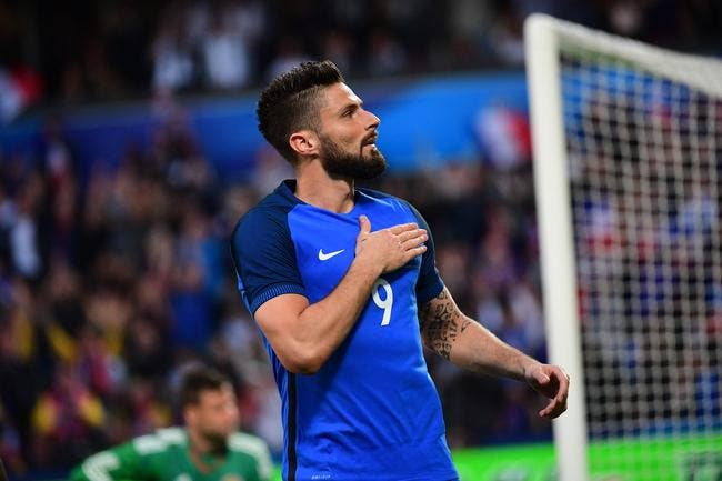 France : Giroud zappe les accusations de racisme signées Benzema et Cantona