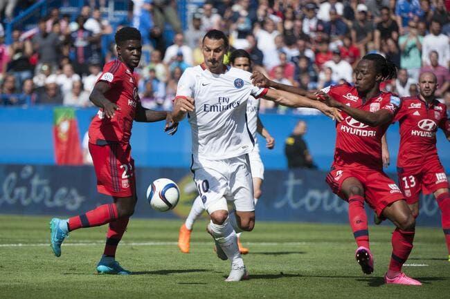 OL-PSG : Ibrahimovic colle un taquet XXL à Aulas avant de partir