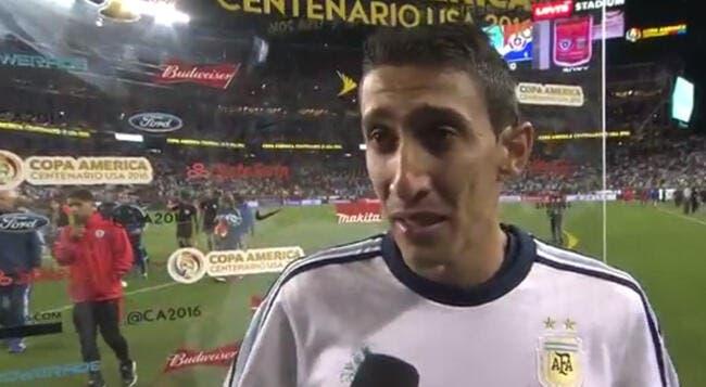 Vidéo : Angel Di Maria effondré et en larmes après Argentine-Chili