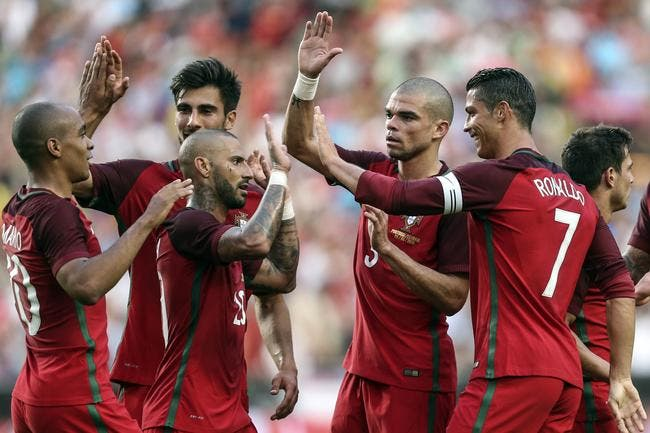 Euro 2016 : Le Portugal cartonne 7-0 avant d'arriver en France